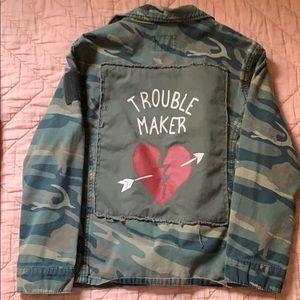 Zara Girls Camo Jacket